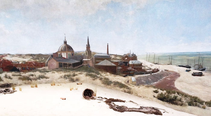 Panorama Mesdag painting in The Hague Netherlands