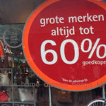 Dutch advertising sign