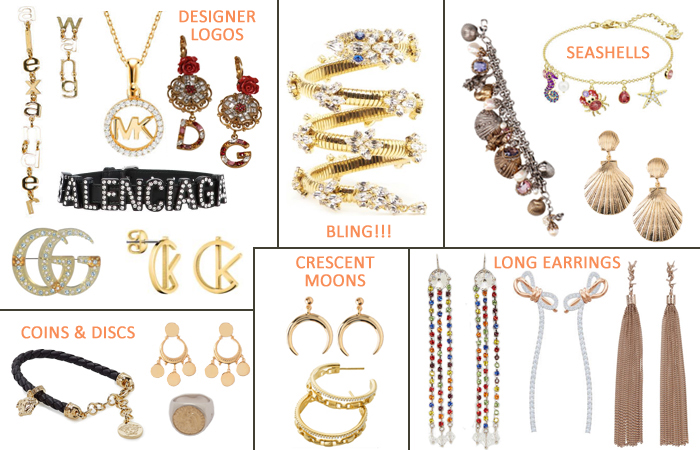 spring-summer 2019 fashion jewelry trends