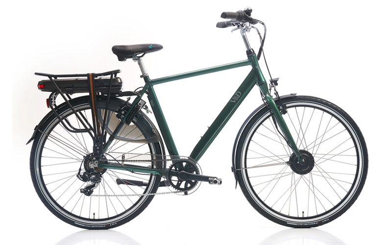 V&D introduces own line of e-bikes in Netherlands