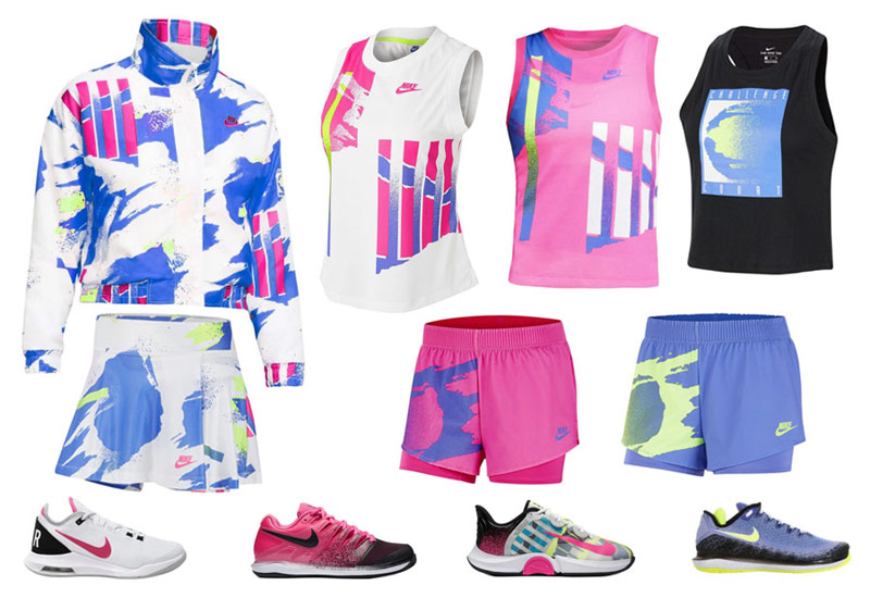 Nike Challenge Court womens 2020 US Open collection