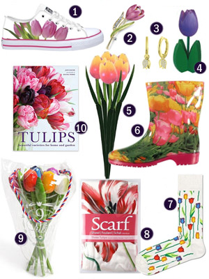 Holland tulip-themed gifts souvenirs