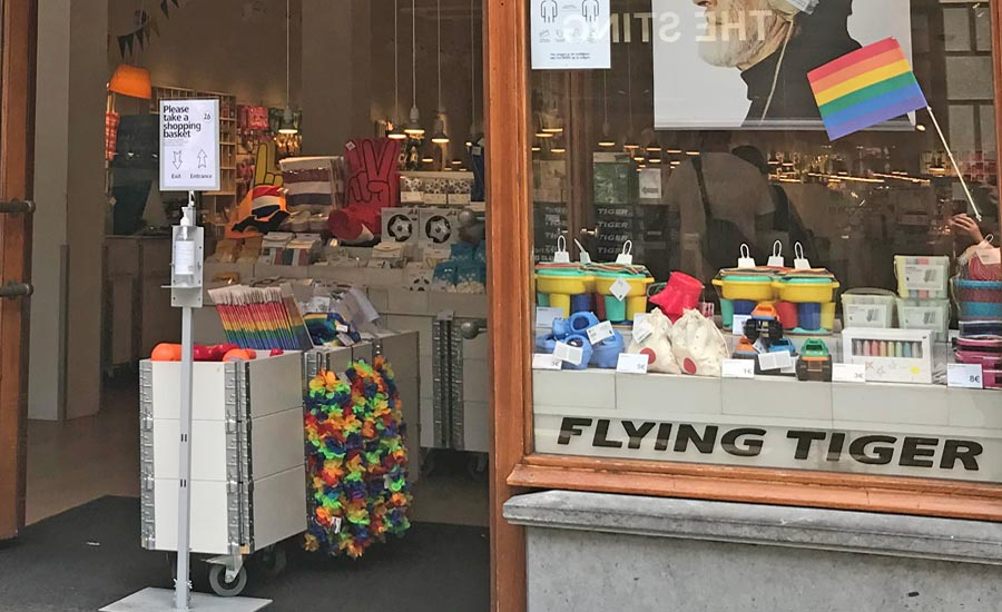 Flying Tiger store in The Hague Netherlands