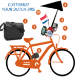 Dutch bike accessories in Holland