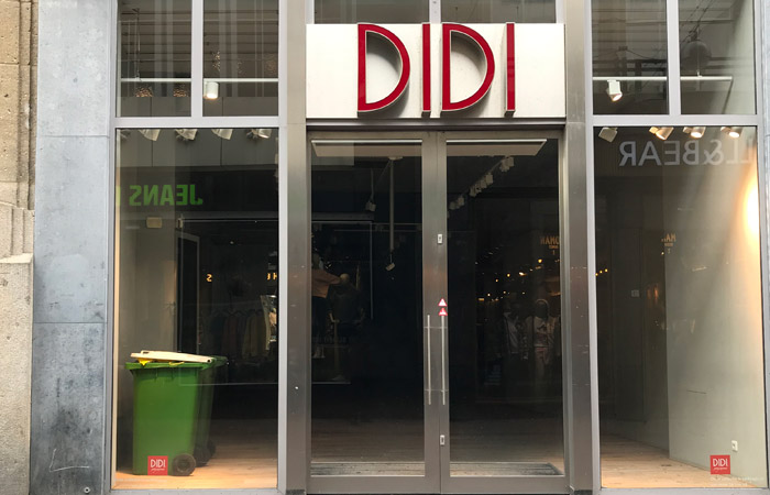 Didi clothing store liquidated in The Hague Netherlands