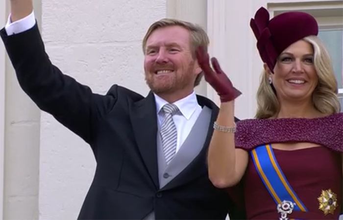 King Willem-Alexander and Queen Maxima of the Netherlands on Prinsjesdag 2019