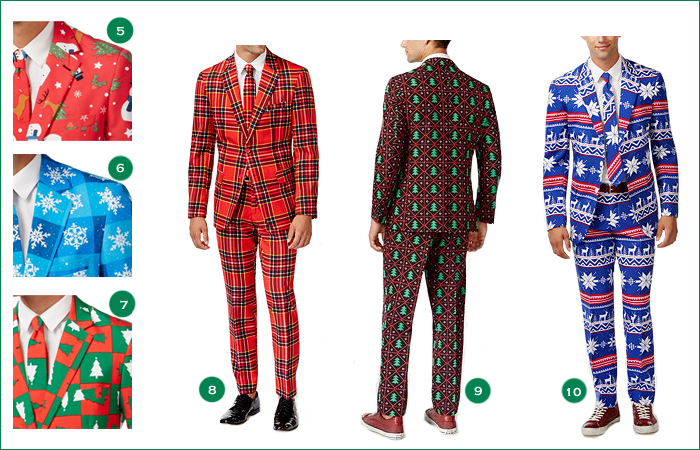 Dutch OppoSuits holiday styles