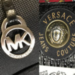 Michael Kors Versace logos on products