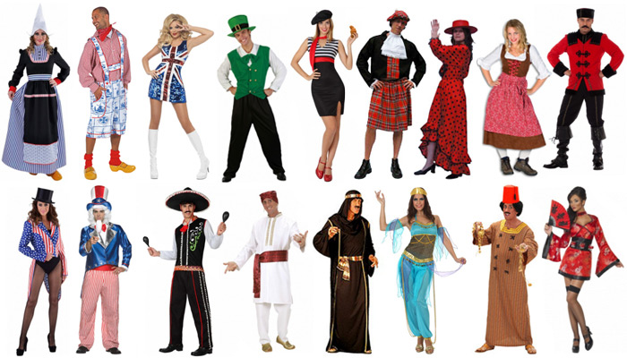national costumes for expats in the Netherlands