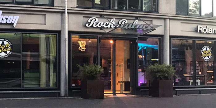 Rock Palace (Keymusic) store in The Hague Netherlands