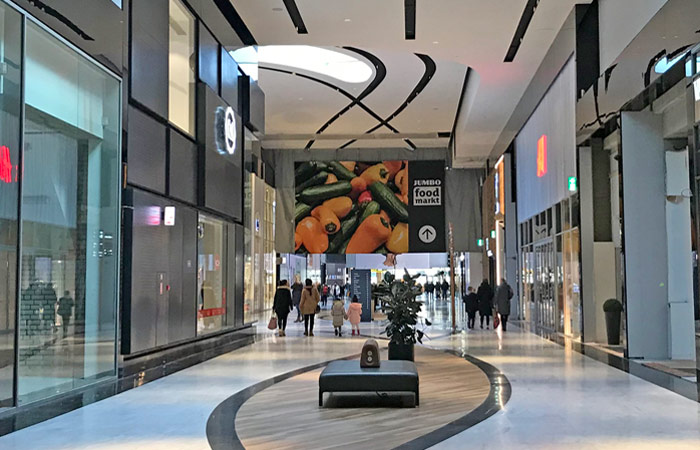 hallway of Mall of the Netherlands