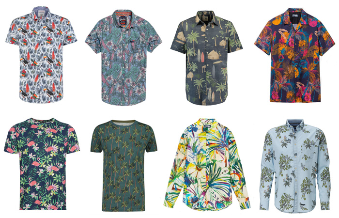 2146b22151 spring-summer-2019 mens tropical floral print shirts at stores in  Amsterdam, The