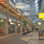 shopping mall in The Hague Netherlands
